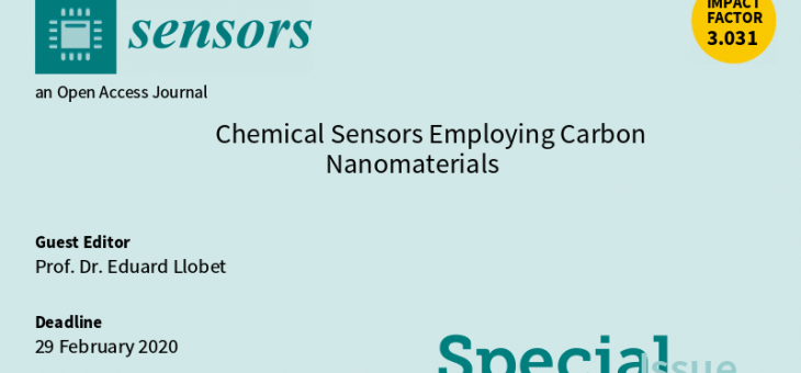 SENSORS Special Issue. INVITATION TO SUBMIT